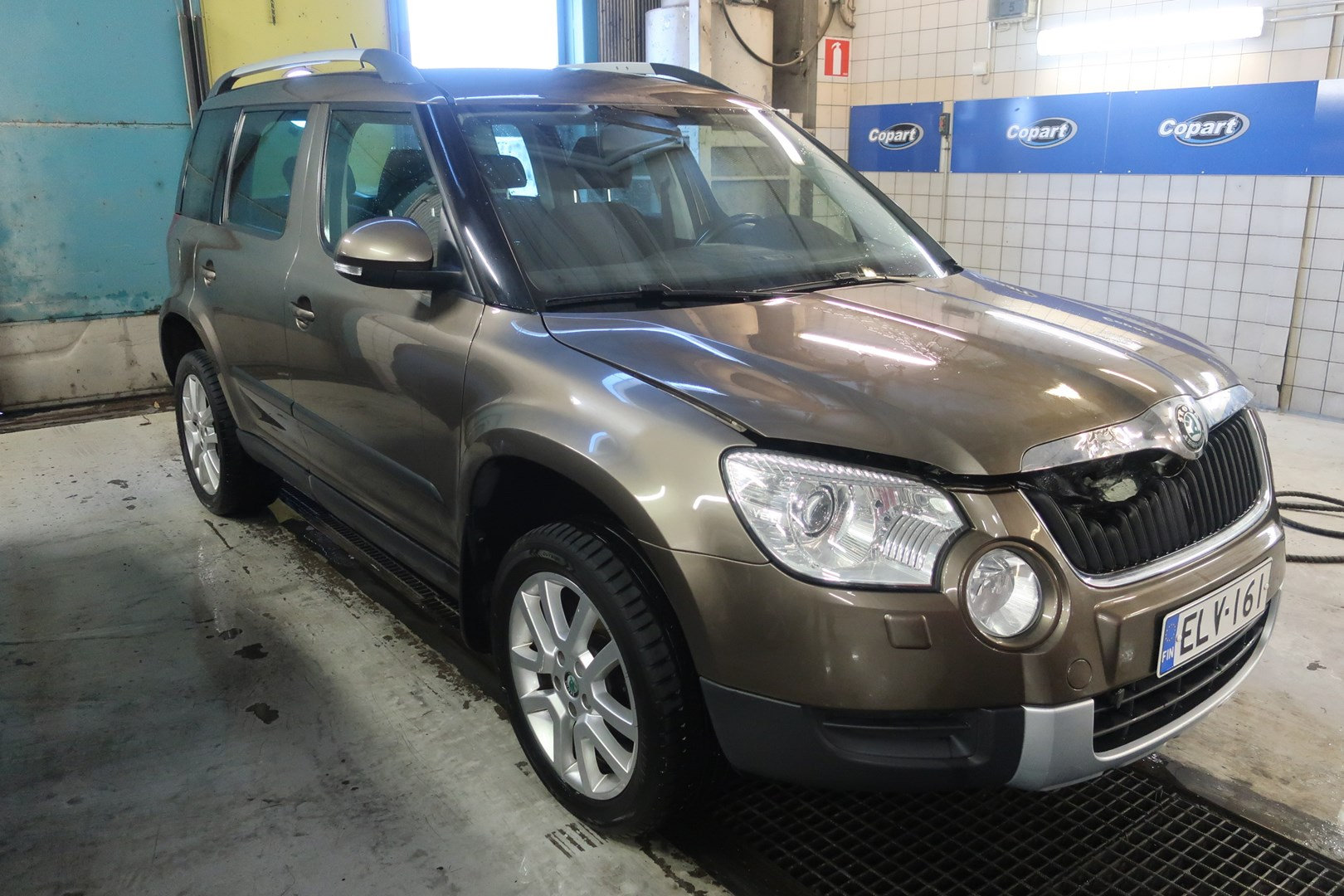 2011 Skoda Yeti For Sale At Turku On Wednesday June 10 2020 Copart Finland